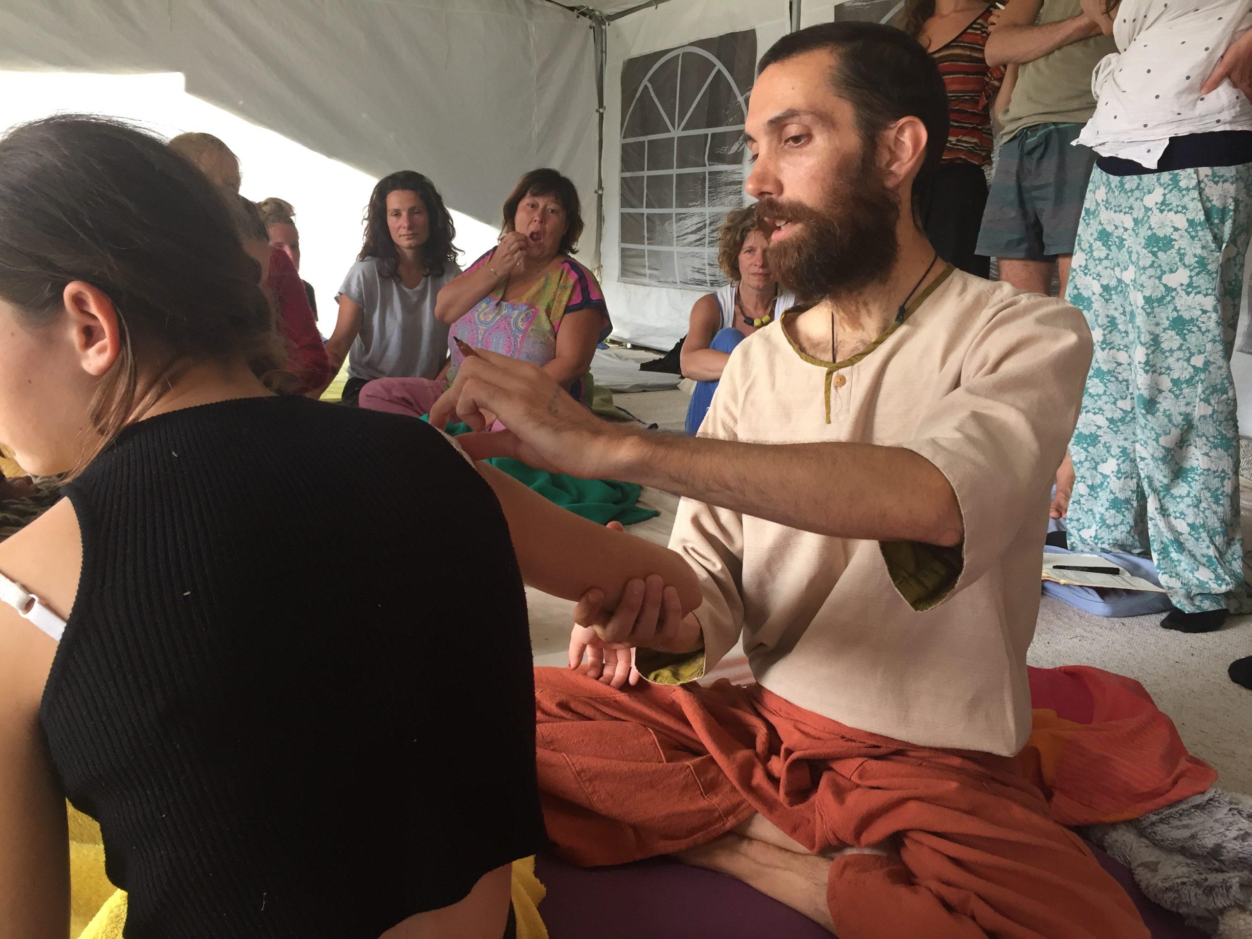 stage massage thaï
