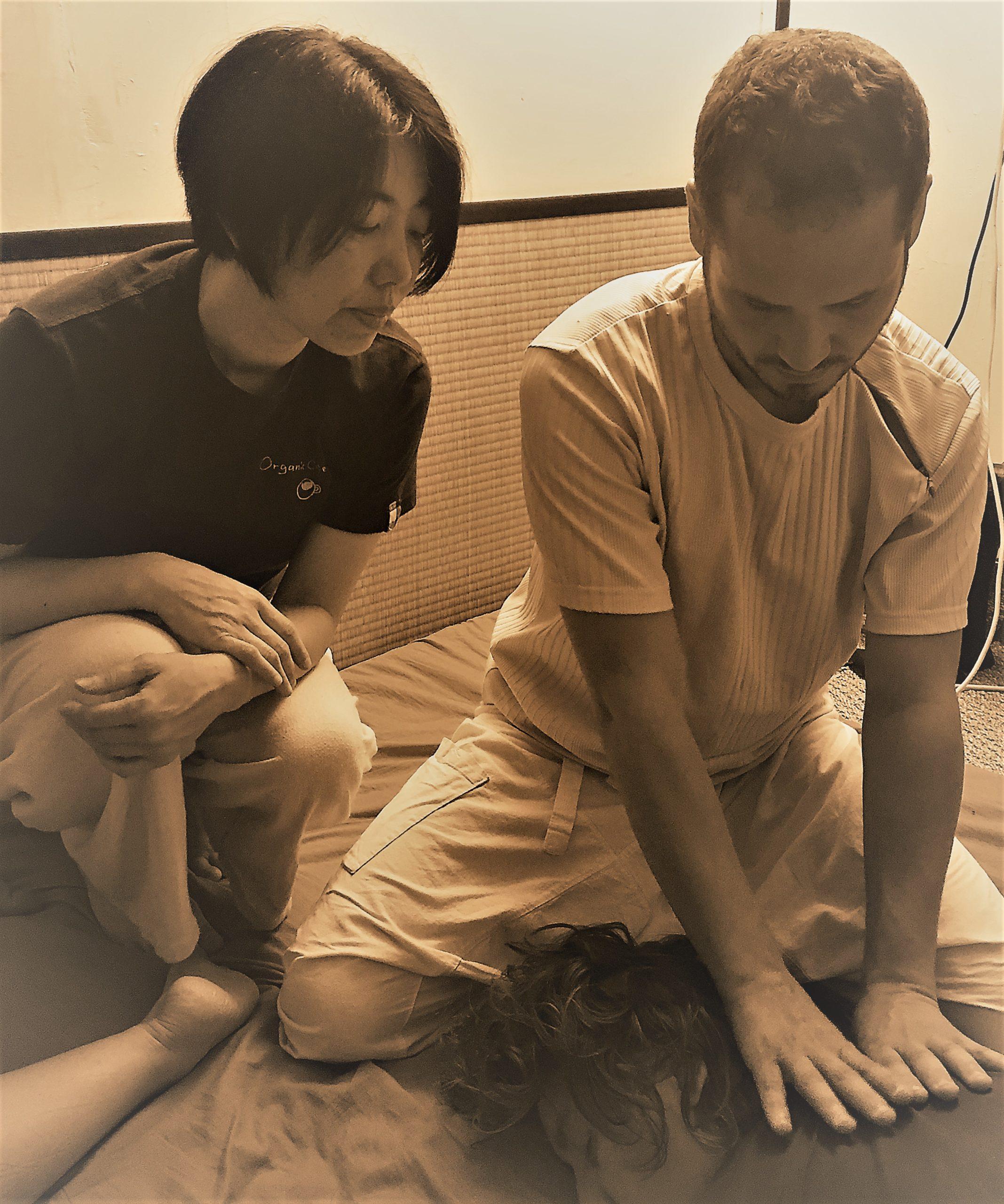 stage massage thai