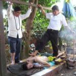 Yam Kang tradition thaie