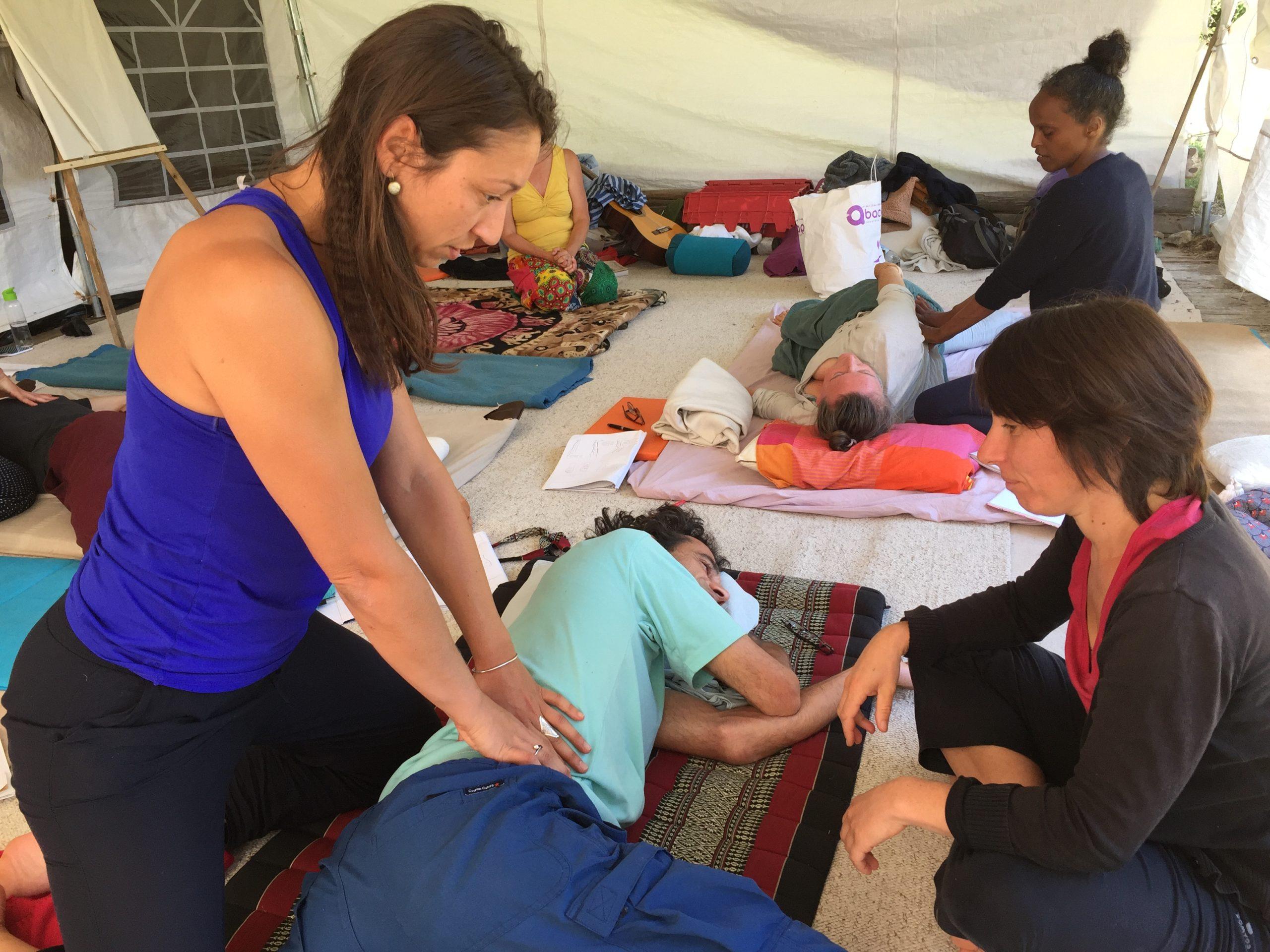 stage massage Nuad Boran
